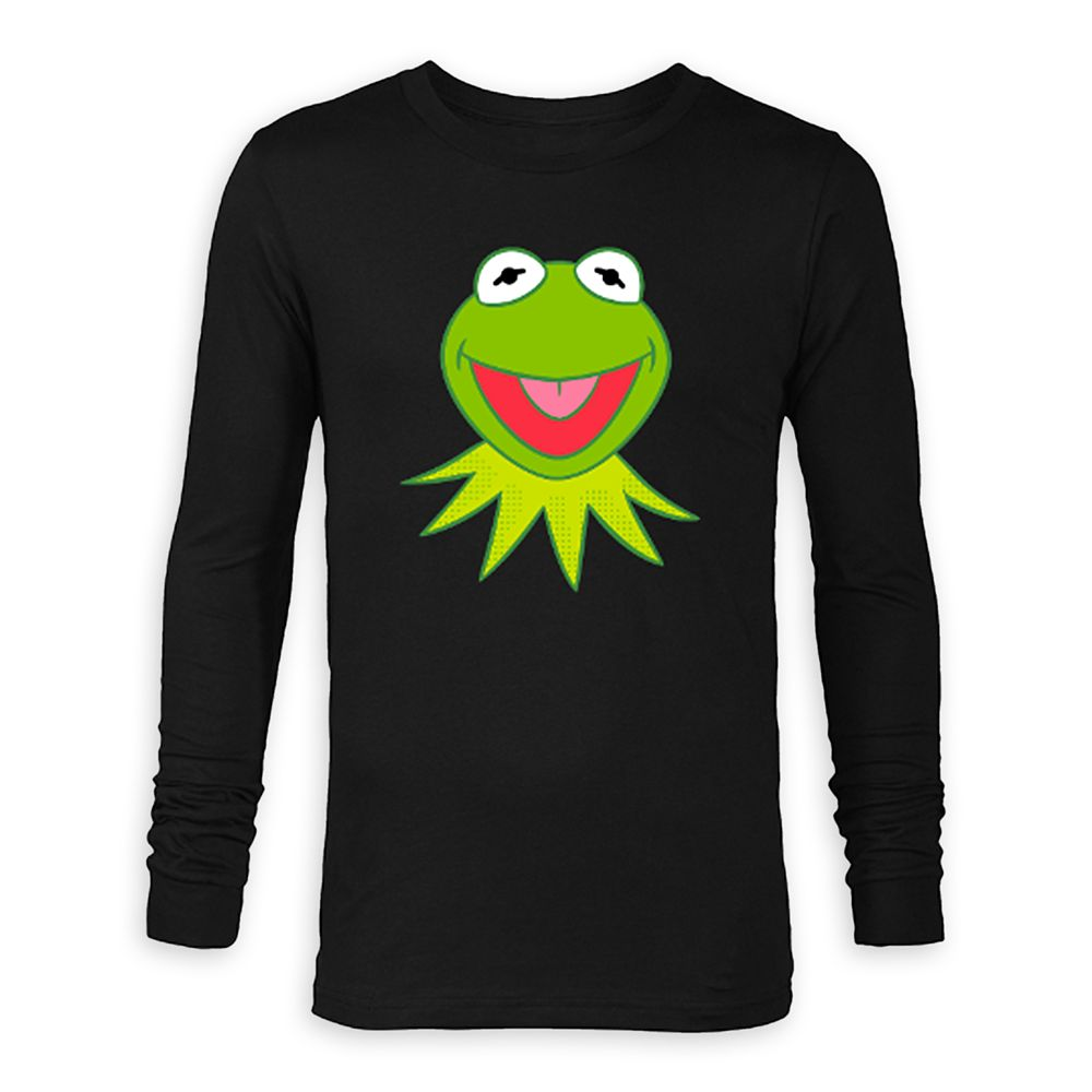 Kermit Long Sleeve T-Shirt for Adults – The Muppets – Customized