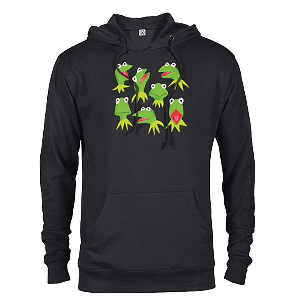 Kermit Pullover Hoodie for Adults – The Muppets – Customized