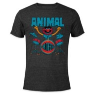 Animal Heathered T-Shirt for Adults – The Muppets – Customized