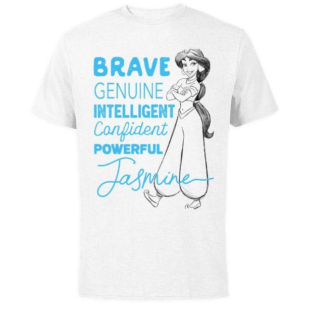 Jasmine ''Brave Genuine Intelligent'' T-Shirt for Adults – Customized