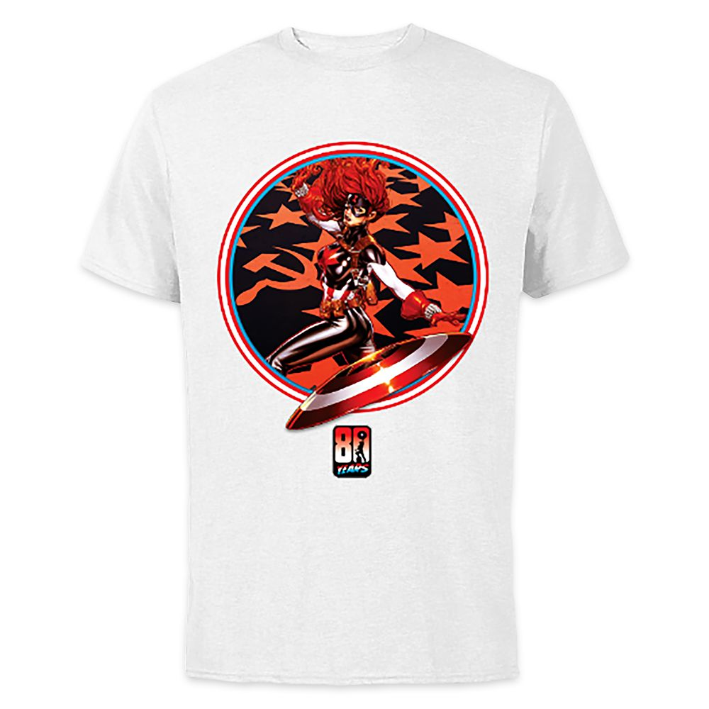 Black Widow #9 T-Shirt for Adults – Captain America 80th Anniversary Variant Covers – Customized