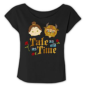 Beauty and the Beast Tsum Tsum Fashion Tee for Women - Limited Release