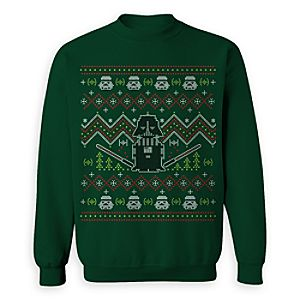 Darth Vader ''Ugly'' Holiday Sweatshirt for Adults - Star Wars - Limited Release