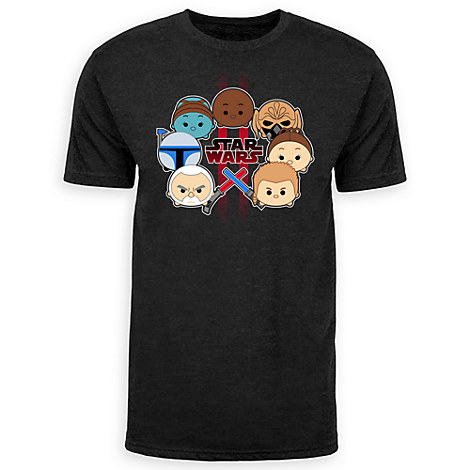 Star Wars: Attack of the Clones Cast ''Tsum Tsum'' Tee for Adults - Limited Release