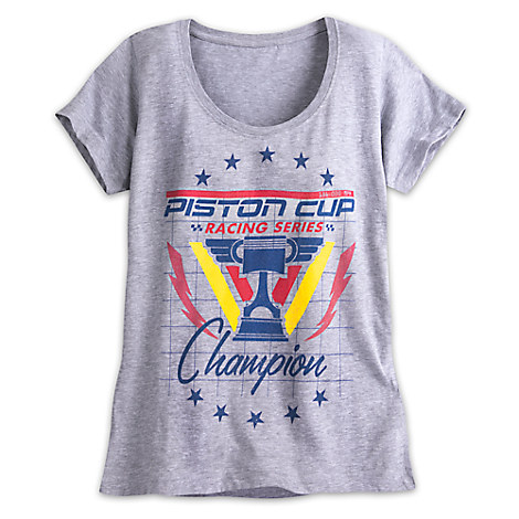 Piston Cup Champion Tee for Women - Cars 3