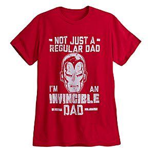 """Iron Man """"Dad"""" Tee for Men"""