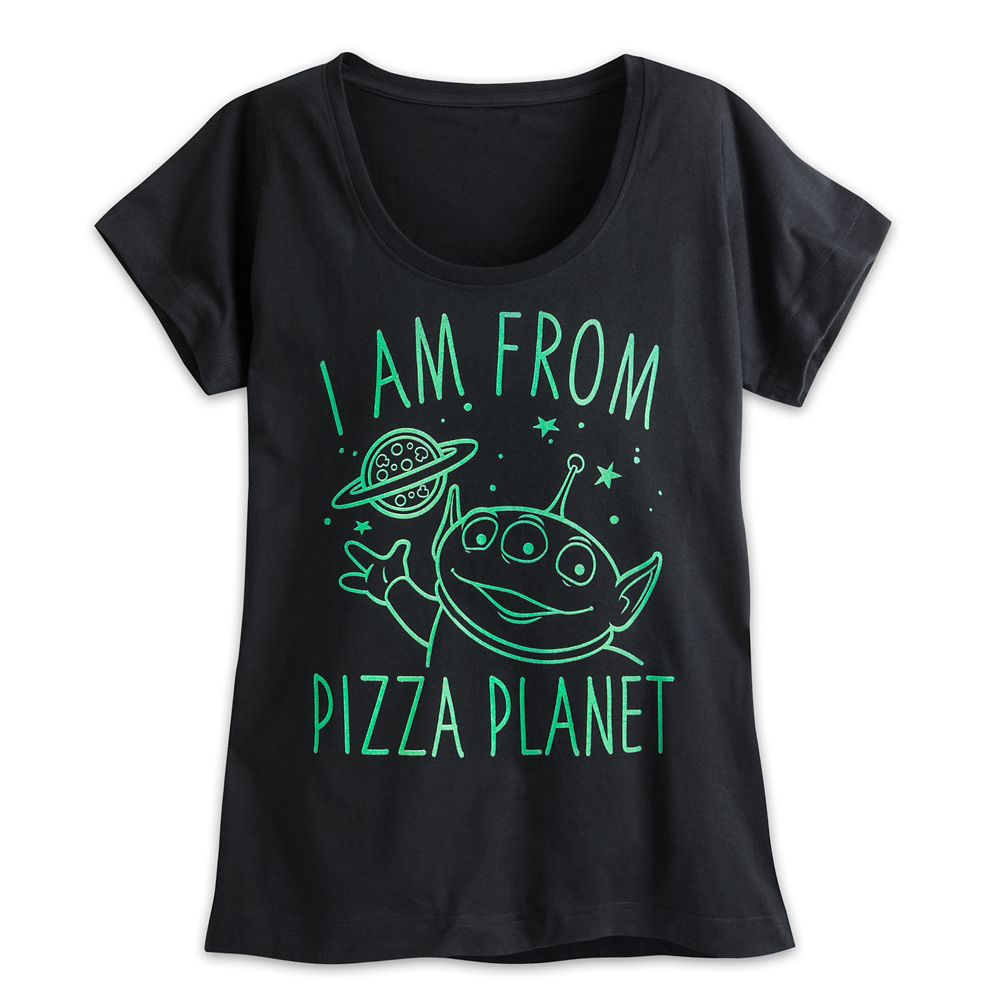 Alien Pizza Planet Tee for Women  Toy Story Official shopDisney