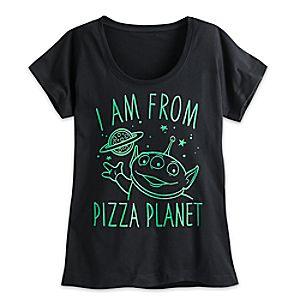 Alien Pizza Planet Tee for Women -