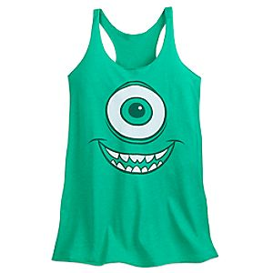 Mike Wazowski Tank Top for Adults - Monsters, Inc. 6720057110458M