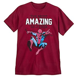 Spider-Man ''Amazing Dad'' T-Shirt for Adults 6720057110509M