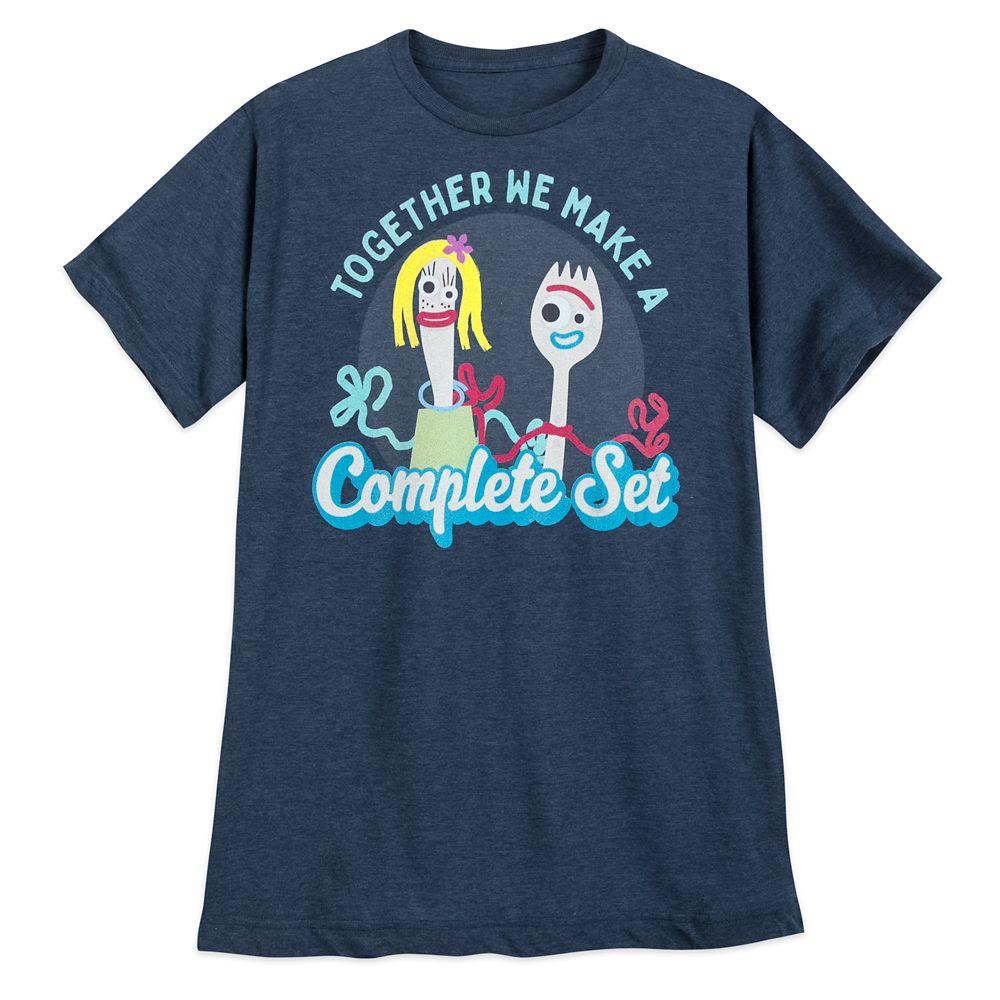 D23 Member – Forky Complete Set T-Shirt for Men – Toy Story 4