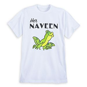 Naveen Couples T-Shirt for Men - The Princess and the Frog