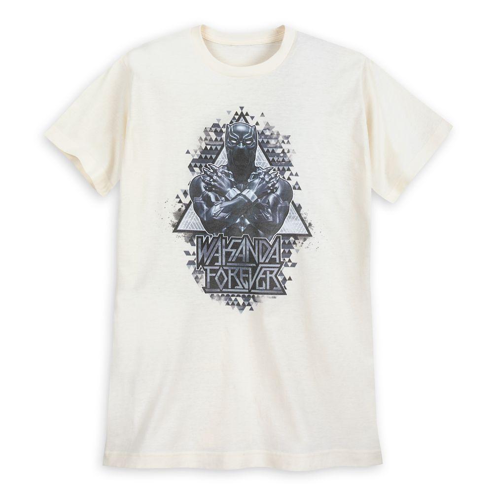 Black Panther Geometric T-Shirt for Men