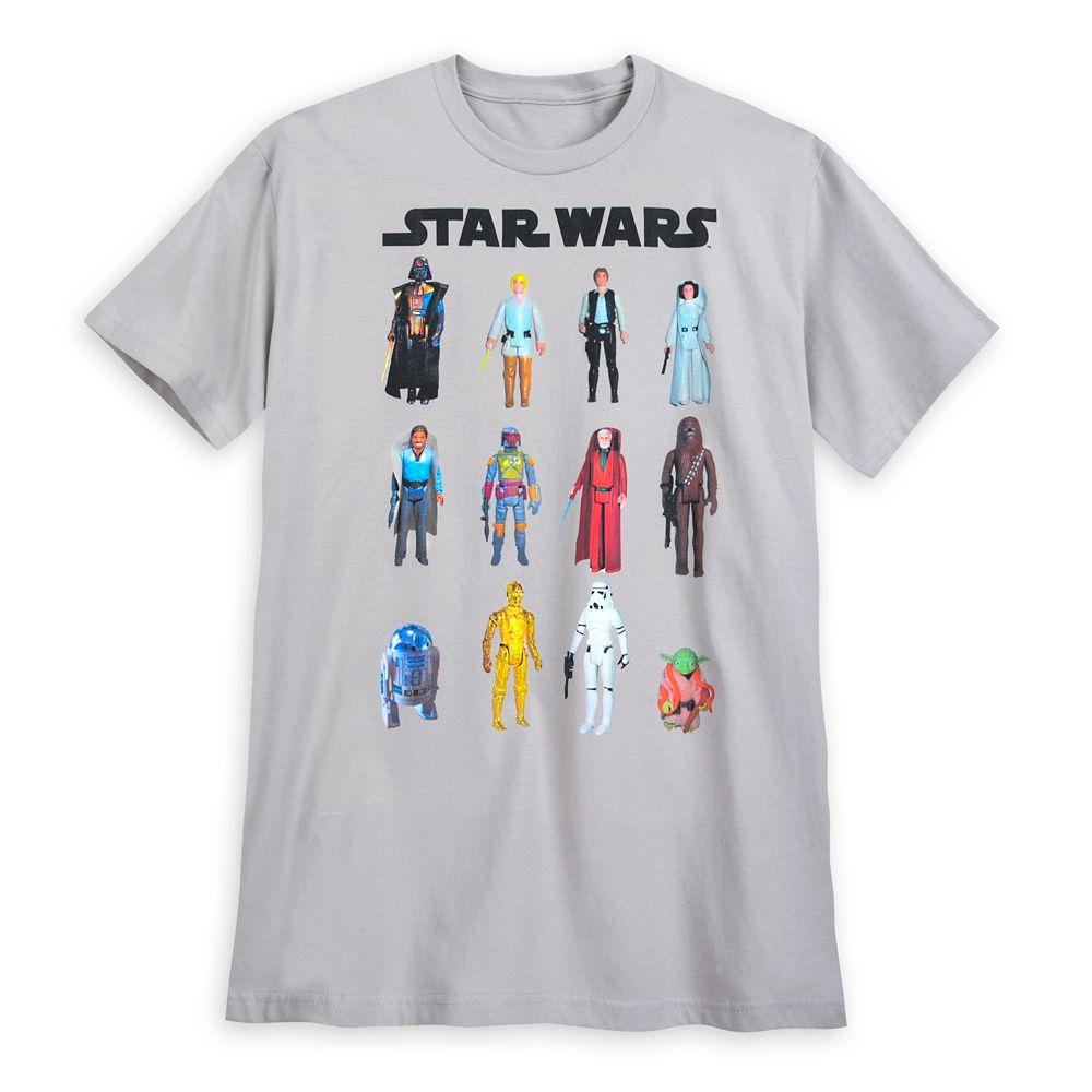 Star Wars Action Figure T-Shirt for Men