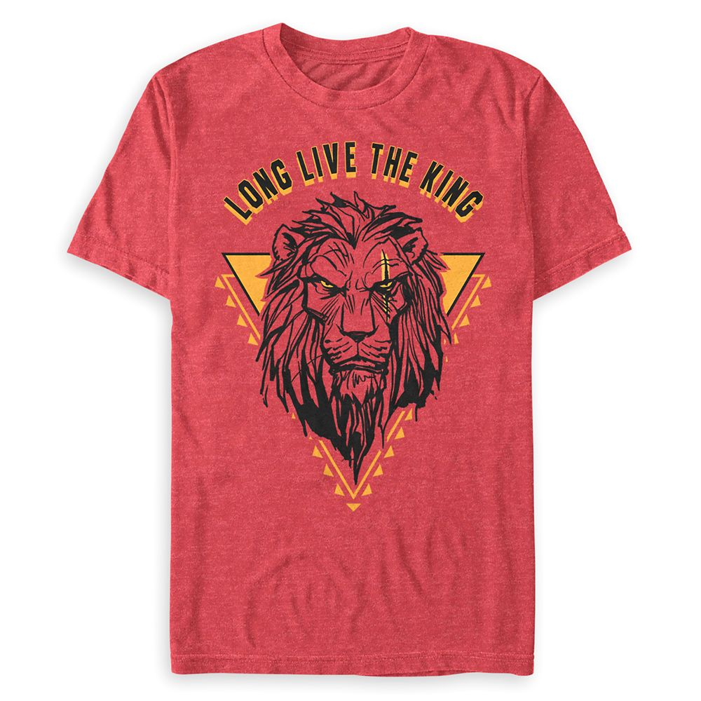 Scar T-Shirt for Men – The Lion King 2019 Film