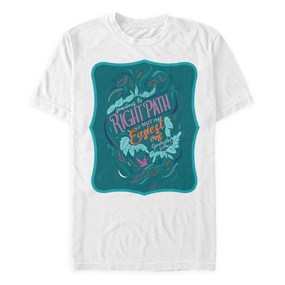 Disney Wisdom T-Shirt for Adults – Pocahontas – May – Limited Release