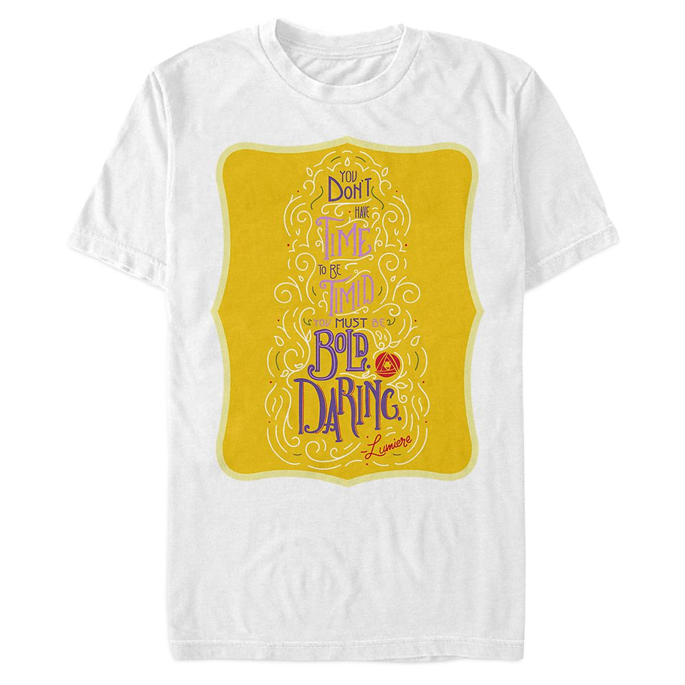 Disney Wisdom T-Shirt for Adults – Lumiere – June