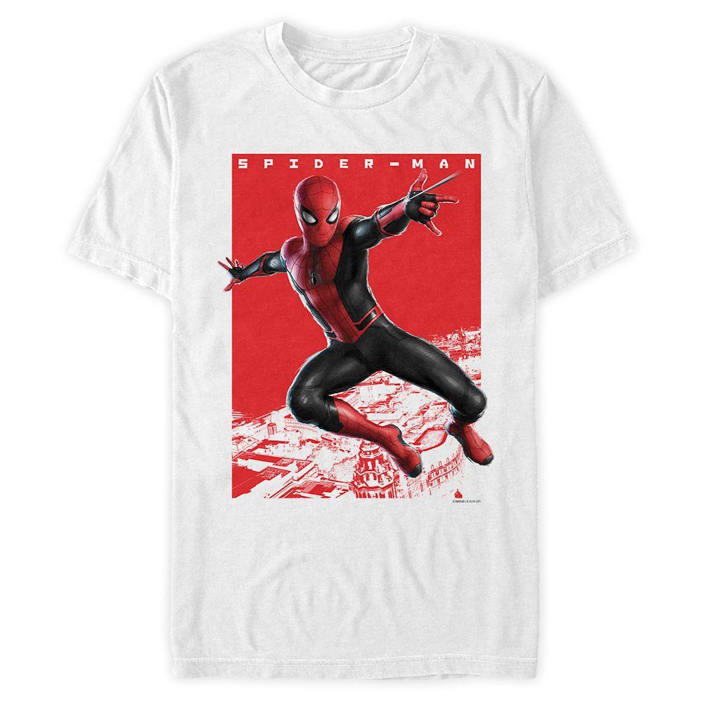 Spider-Man: Far From Home Webslinger T-Shirt for Men