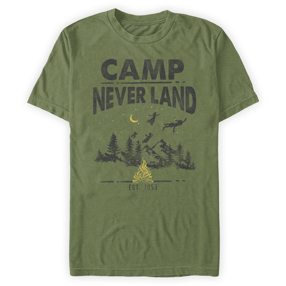 Peter Pan ''Camp Never Land'' T-Shirt for Adults