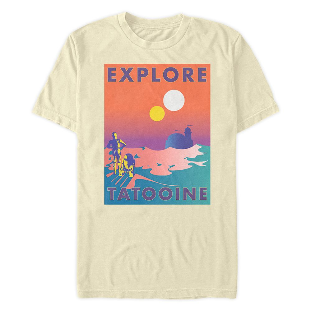Star Wars ''Explore Tatooine'' T-Shirt for Adults