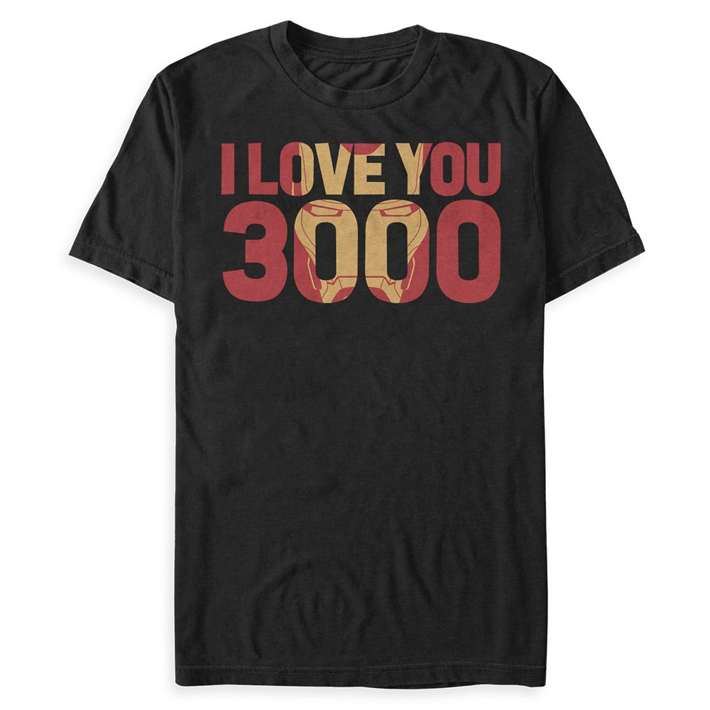 Iron Man '' I Love You 3000'' T-Shirt for Men