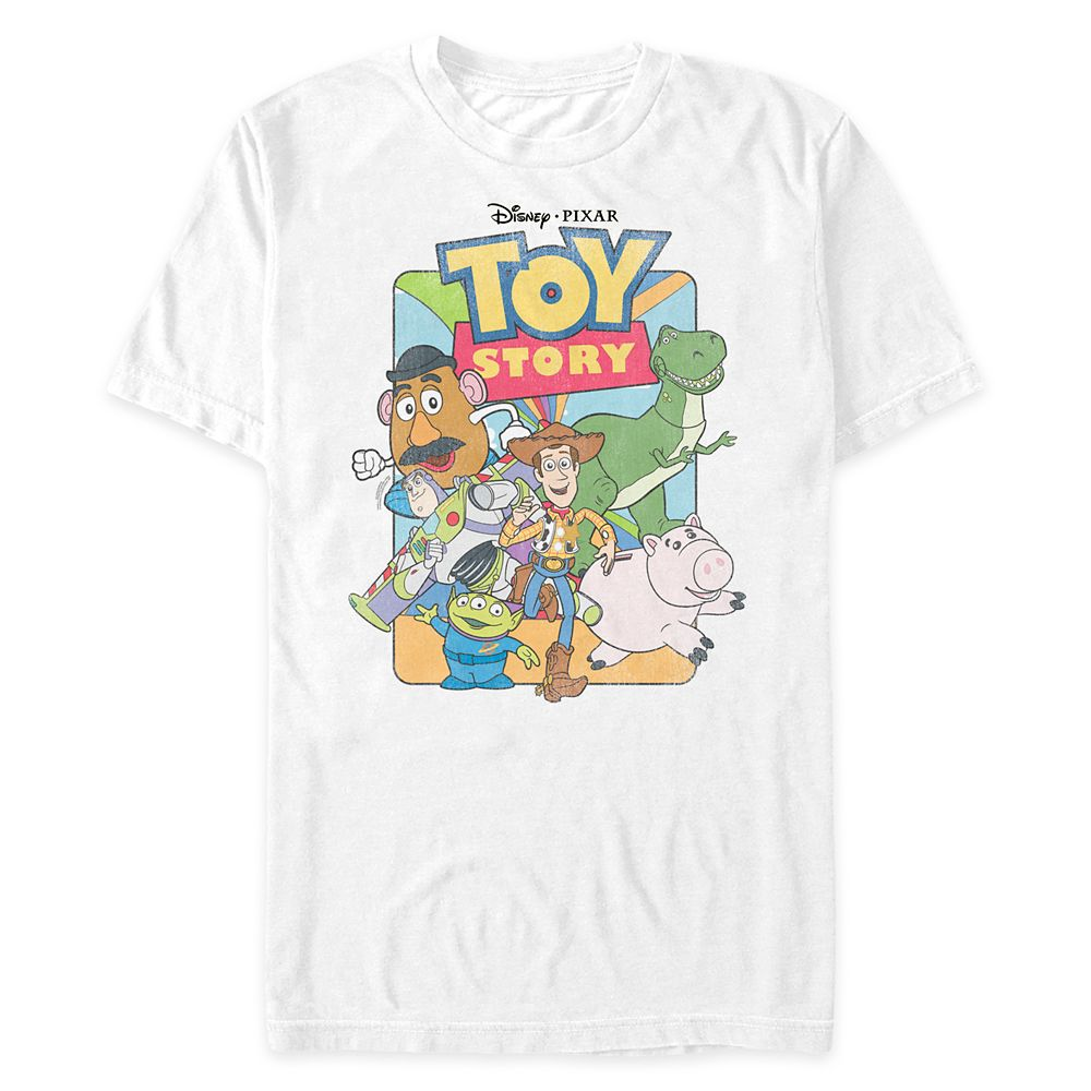 Toy Story Cast T-Shirt for Adults