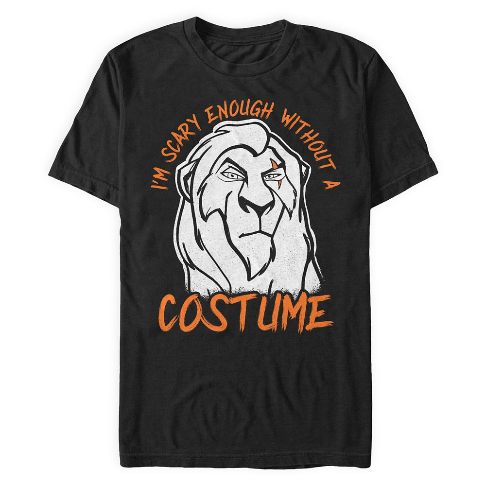 Scar Halloween T-Shirt for Men – The Lion King