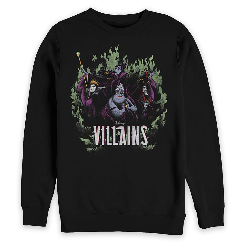 Disney Villains Pullover Sweatshirt for Adults