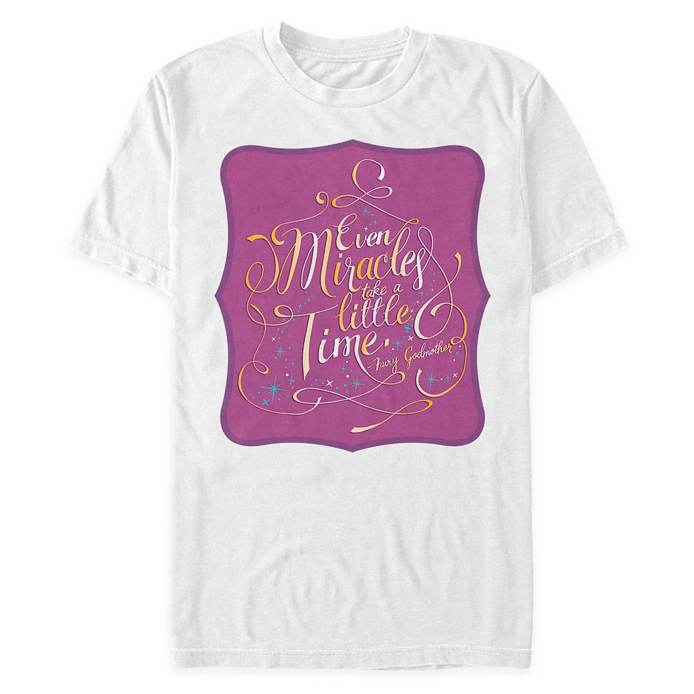 Disney Wisdom T-Shirt for Adults – Fairy Godmother – Cinderella