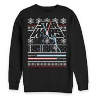 Luke Skywalker and Darth Vader Holiday Sweatshirt for Adults