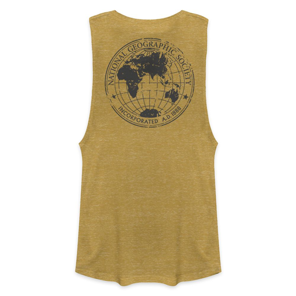 National Geographic Society Map Tank Top for Women