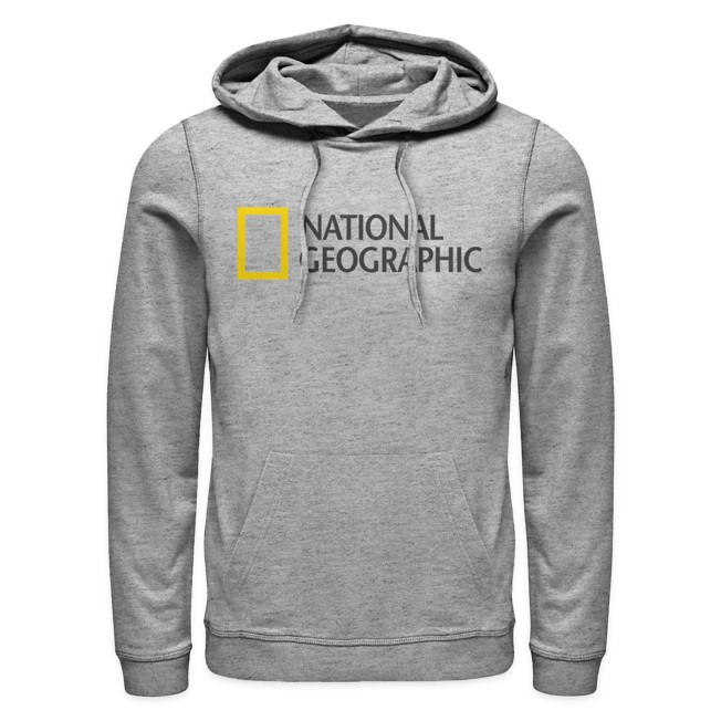 National Geographic Logo Hoodie for Adults