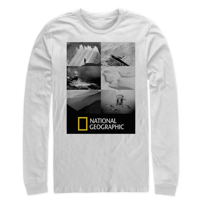 National Geographic Long-Sleeve T-Shirt for Adults