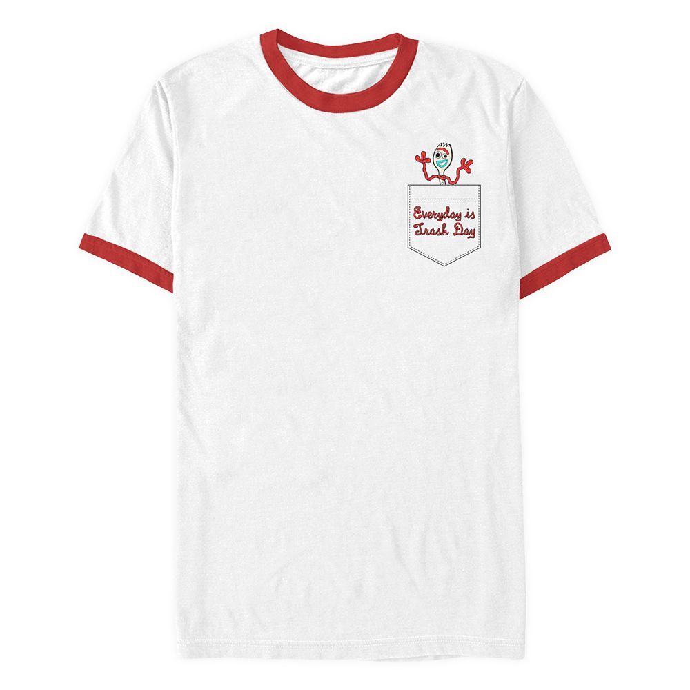 Forky Ringer T-Shirt for Adults – Toy Story 4