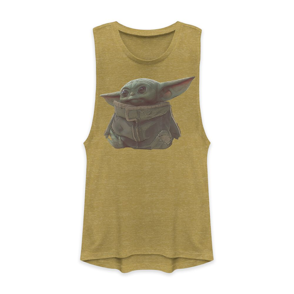 The Child – Star Wars: The Mandalorian Tank Top for Women – Gold