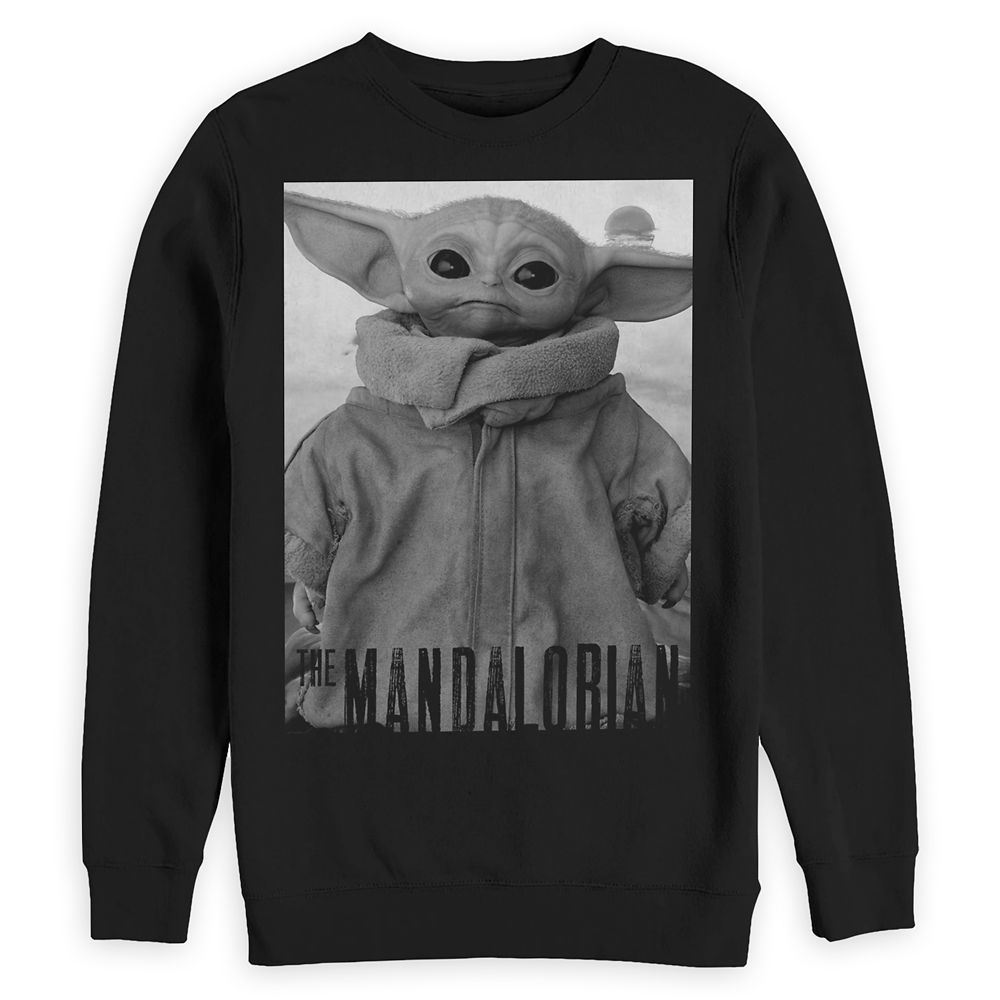 The Child – Star Wars: The Mandalorian Sweatshirt for Adults – Black