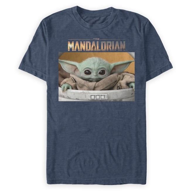 The Child – Star Wars: The Mandalorian T-Shirt for Men – Blue