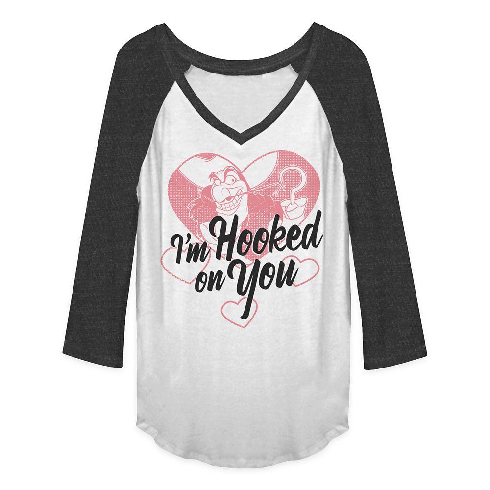 Captain Hook Raglan T-Shirt for Women – Valentine's Day