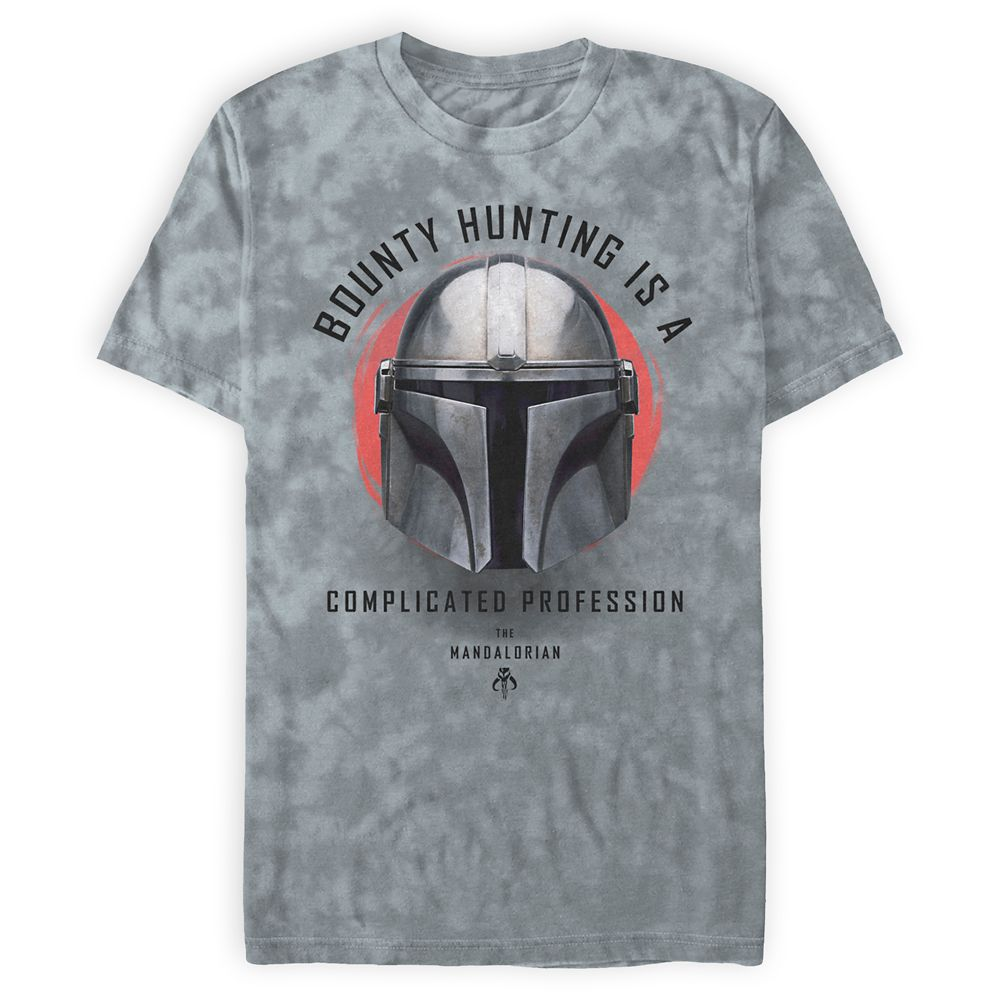 The Mandalorian ''Bounty Hunting Is a Complicated Profession'' T-Shirt for Men