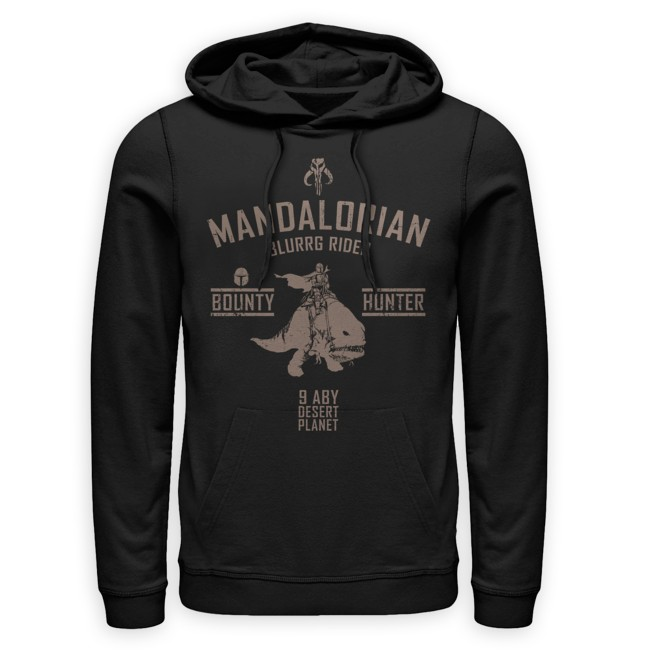 Star Wars: The Mandalorian Hooded Pullover for Adults