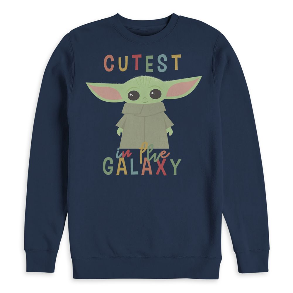 The Child ''Cutest in the Galaxy'' Pullover Sweatshirt for Adults Star Wars: The Mandalorian Official shopDisney