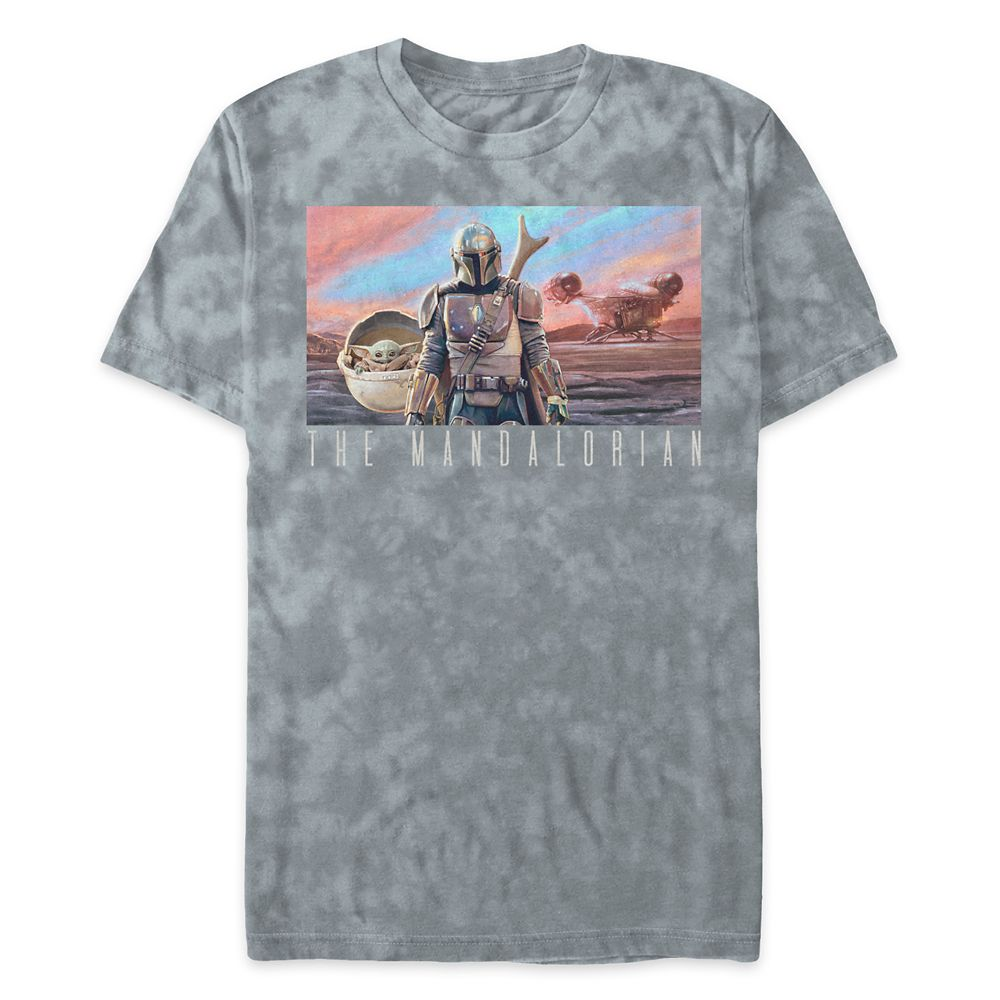 Star Wars: The Mandalorian Tie-Dye T-Shirt for Men