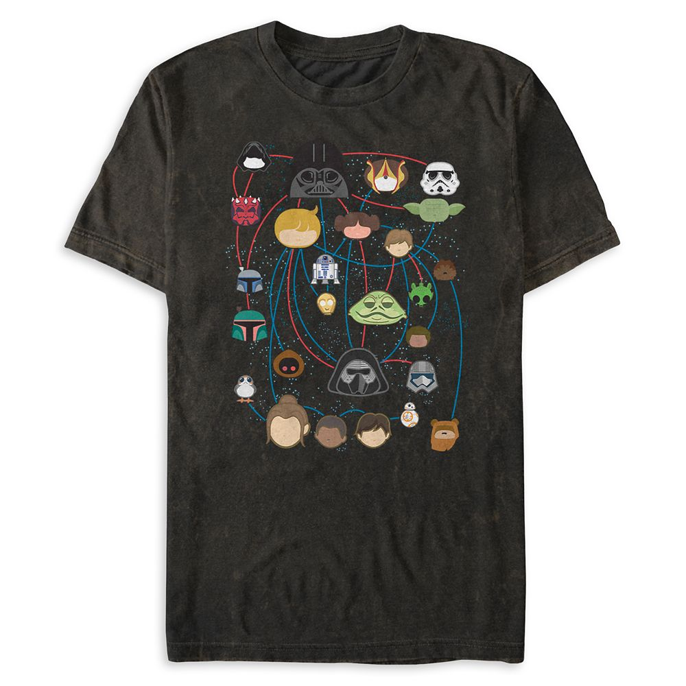 Star Wars Family Tree T-Shirt for Men