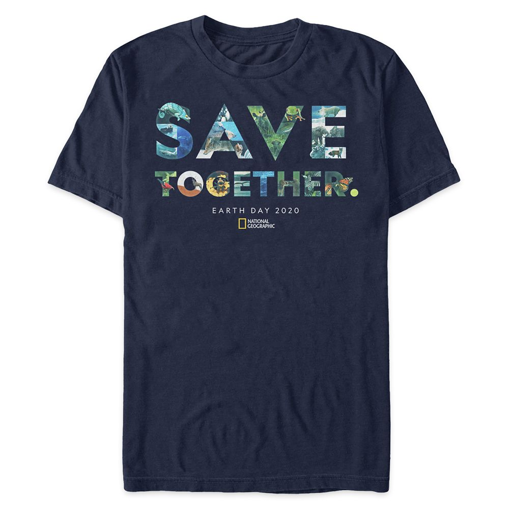 Earth Day ''Save Together'' Collage T-Shirt for Men – National Geographic