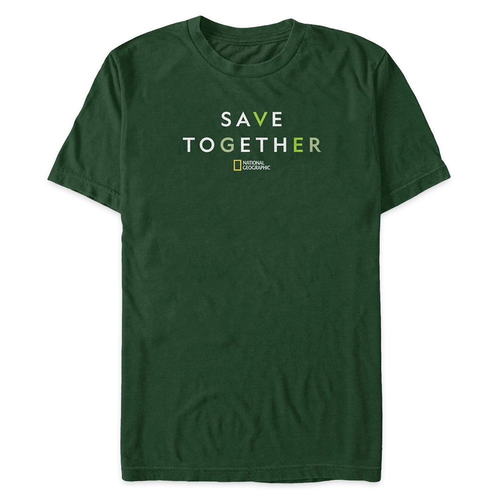 Earth Day ''Save Together'' T-Shirt for Men – National Geographic