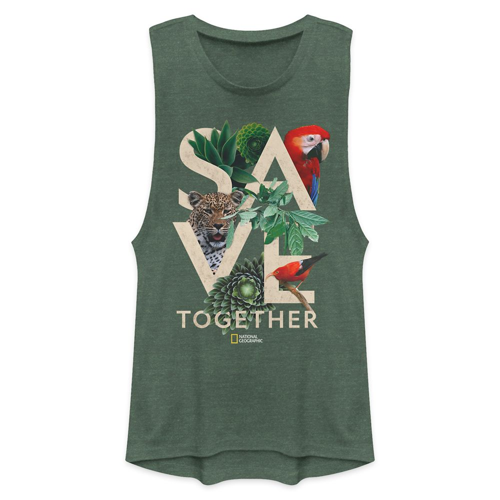 Earth Day ''Save Together'' Tank Top for Women – National Geographic