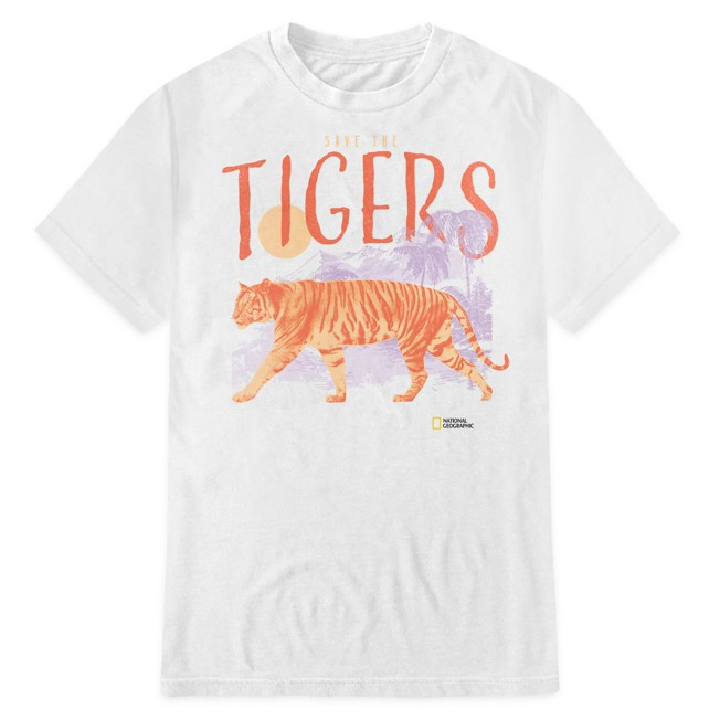 National Geographic ''Save the Tigers'' T-Shirt for Adults
