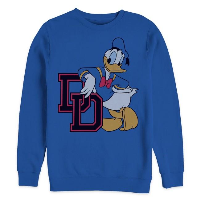 Donald Duck Varsity Sweatshirt for Adults