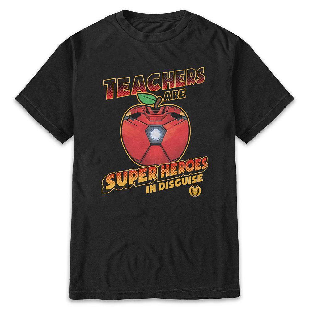 Iron Man Teachers T-Shirt for Adults
