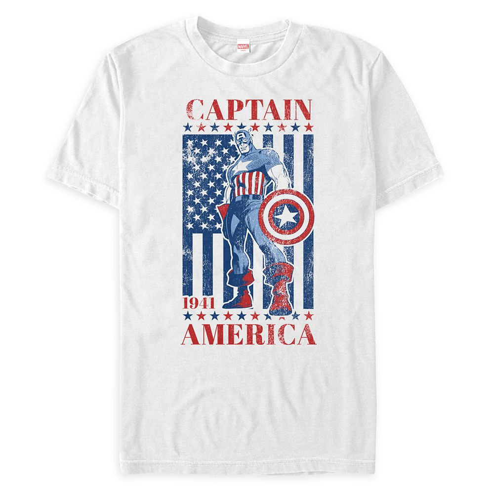 Captain America Classic T-Shirt for Adults